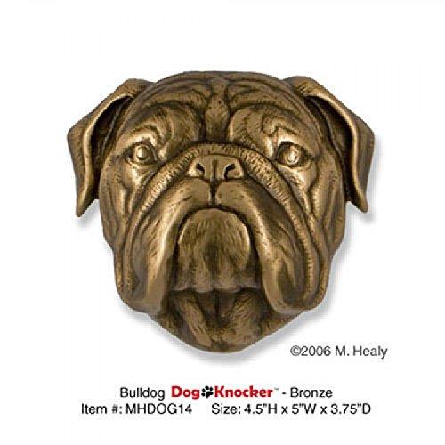 Casa Hardware Bronze Bulldog Door Knocker