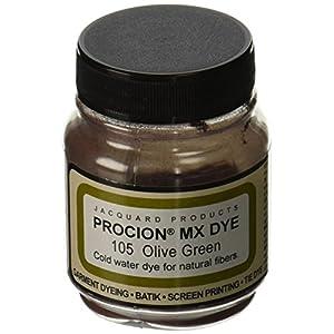 DecoArt PMX-1105 Jacquard Procion Mx Dye, 2/3-Ounce, Olive Green