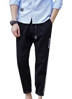 Gocgt Men Loose Casual Athletic Shorts Elastic Waist Drawstring Training Pants with Pocket