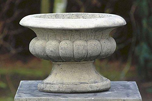 Pflanzpott, H 34, Amphore, Pflanzkübel, Stein Farbe sandstein