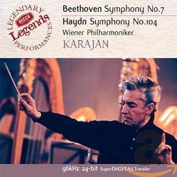 Sinfonien 7/104 - Karajan, Herbert Von, Wp, Beethoven, Ludwig Van, Haydn,  Joseph: Amazon.de: Musik