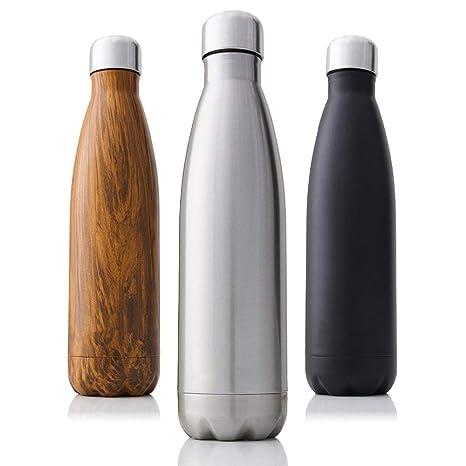 XOSHX 750 ml de Doble Aislamiento Botella de vacío de Acero ...