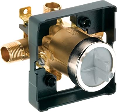 Delta Faucet R10700-UNWS MultiChoice Universal Valve Body with In-Wall Diverter Valve
