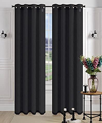 1 Pcs. Sheer Voile Window Panel Curtains Drape Crushed Grommet Wrinkle Style - 439 Sheer