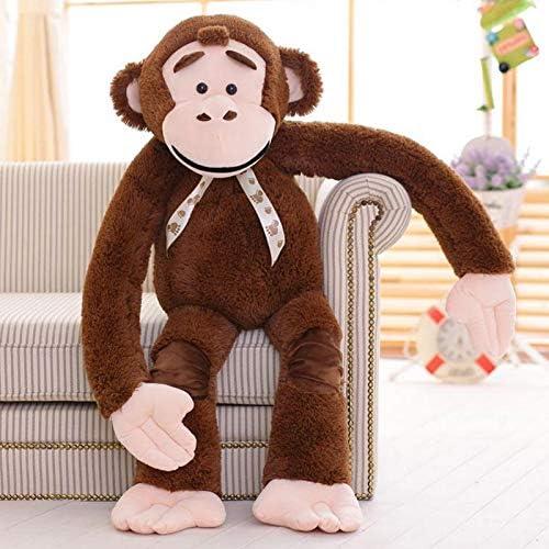 YDGHD Lindo Creativo Gorila Muñeca De Hip-Hop Mono Bocazas Mono De Peluche Muñeca del Día De Los Niños para Enviar A Las Niñas Marrón Oscuro 115 cm: Amazon.es: Juguetes y juegos
