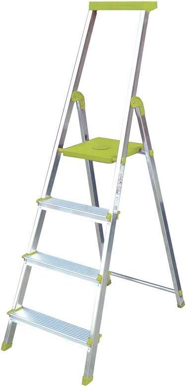 Escalera Rolser Aluminio BriColor 4 Peldaños - Lima: Amazon.es: Bricolaje y herramientas