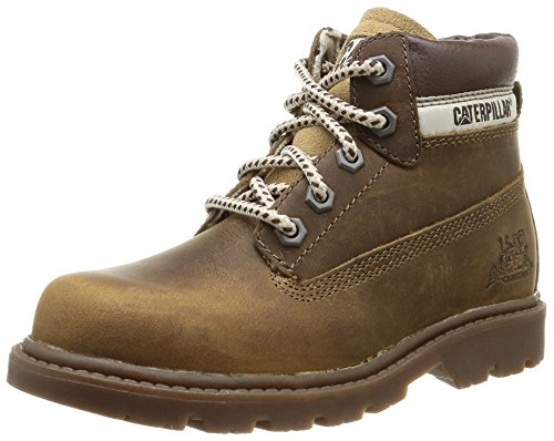 Cat Footwear Colorado Plus, Jungen Stiefel Beige (Dark Beige)