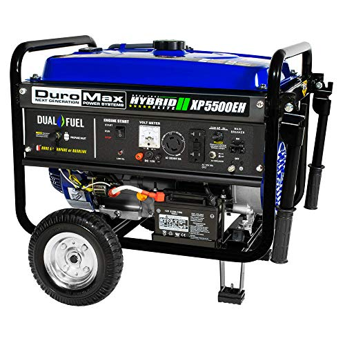 DuroMax XP5500EH 5,500 Watt 7.5 HP Portable Electric Start Dual Fuel Gas/Propane Generator by DuroMax (Image #4)