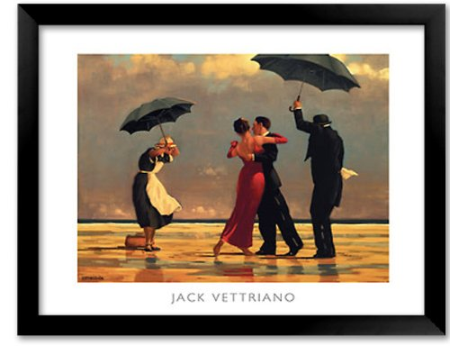 The Singing Butler by Jack Vettriano Art Print Framed - 28x36 in. Singing Butler Jack