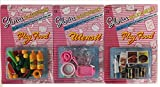Barbies Kitchen Barbie Size Gloria Play Utensil and Play Food