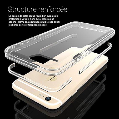 Caseflex iPhone 6 / 6S Contours Renforcés en TPU Gel Coque avec Découpes Précises pour Ports & Revêtements pour Boutons