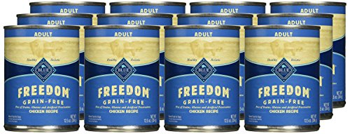 BLUE-Freedom-Adult-Grain-Free-Chicken-Wet-Dog-Food-125oz-Pack-of-12