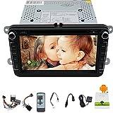 GPS Navigation 2 Din Car Autoraio Headunit In Dash Deck Bluetooth 8 Inch LCD ...