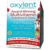 Vitalah No Sugar Oxylent Weight Loss Product, Sparkling Berries,  0.22 oz, 30 Count