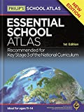 Philip's Essential School Atlas (World Atlas)
