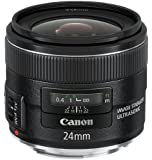 Canon 5345B005 Objectif optique EF 24 mm f/2,8 IS USM