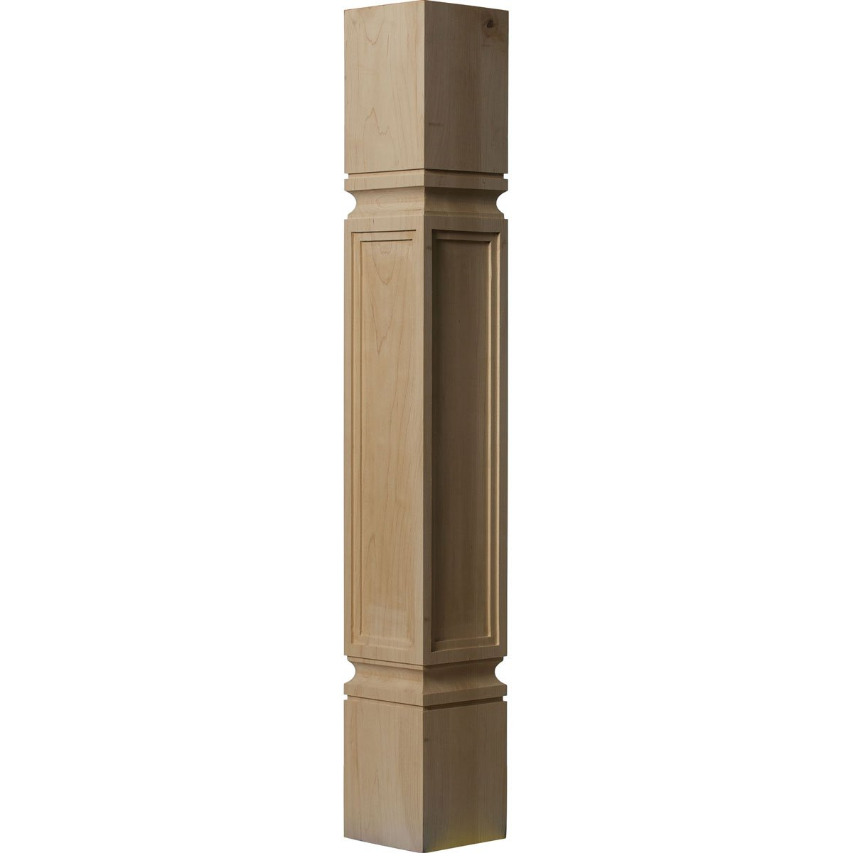 B006ZM1DFI Ekena Millwork COL05X05X35KEAL 5-Inch W x 5-Inch D x 35 1/2-Inch H Kent Raised Panel Cabinet Column, Alder 51iZm8-2rfL
