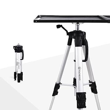 Soporte de aluminio para proyector de trípode Vankyo, soporte ajustable para portátil, soporte multifunción, soporte para ordenador ...