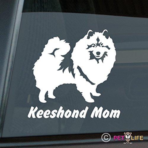 Mister Petlife I Love My Keeshond Sticker Vinyl Auto Window kees