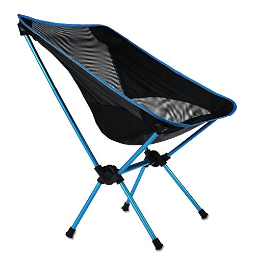 RUNACC Folding Camp Chair Outdoor Chair Portable Beach Chair for Outdoor Activities, Heavy Duty, with Carry Bag Futura High Chair