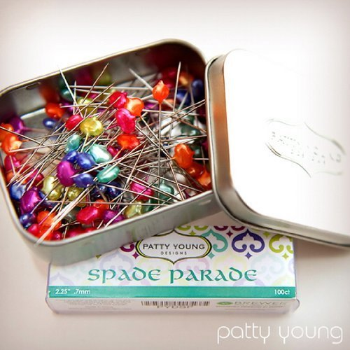 Spade Parade Designer Pins 2.25'' - .7mm - 100ct by Young Designs by Brewer