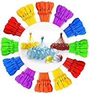 Tiny Balier Water Balloons Fill in 60 Seconds Easy Quick Summer Splash Fun Outdoor Backyard Kids and Adults Pa