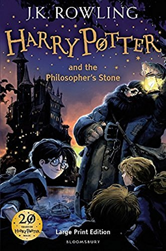 FHarry Potter and the Philosopher's Stone, Large Print edition