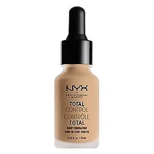 NYX PROFESSIONAL MAKEUP Total Control Drop Foundation, Nude