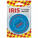 Iris Swiss Super Fine Pins-500/Pkg