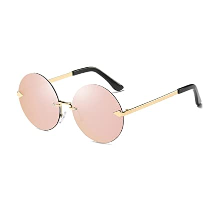 LIZHIQIANG Gafas De Sol Gafas De Sol Mujer Cara Redonda ...