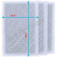 Air Ranger Replacement Filter Pads 24x31 (3 Pack) White