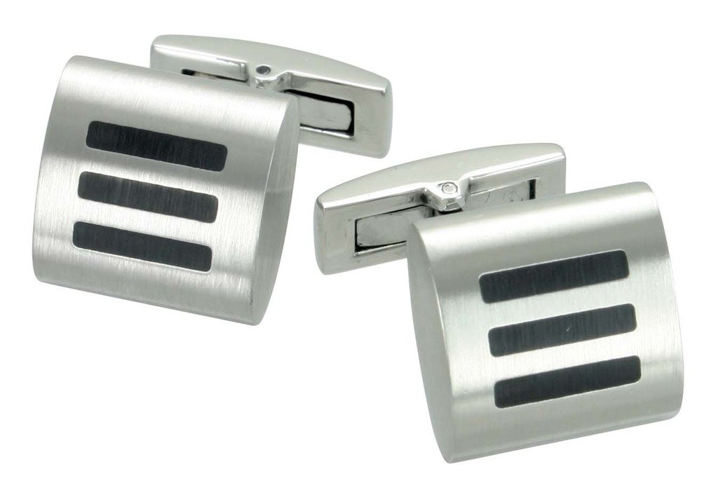 Rising Time Mens Steel Cuff Link