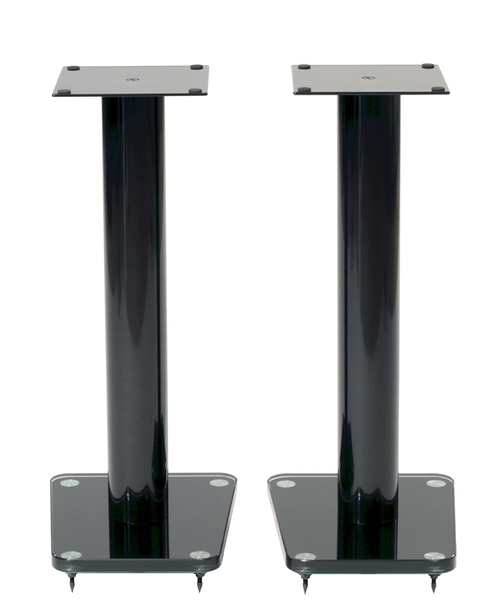 TransDeco TD24B Speaker Stands, 24'', Black by TransDeco