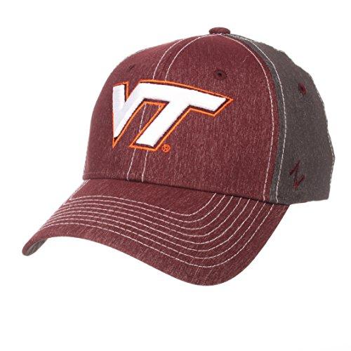 - ZHATS NCAA Virginia Tech Hokies Men's Dusk Hat, Medium/Large, Team Color/Dark Grey