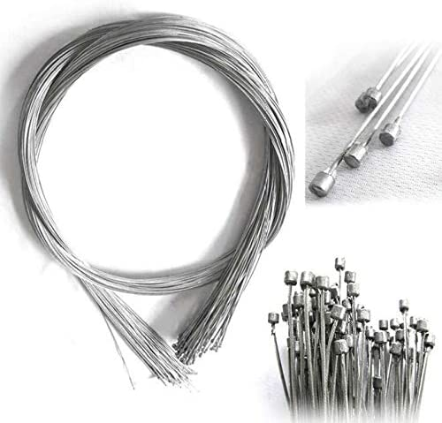 BESPORTBLE Pack of 10 Bicycle Inner Brake Cable Core Wires Brake Line Derailleur Cable