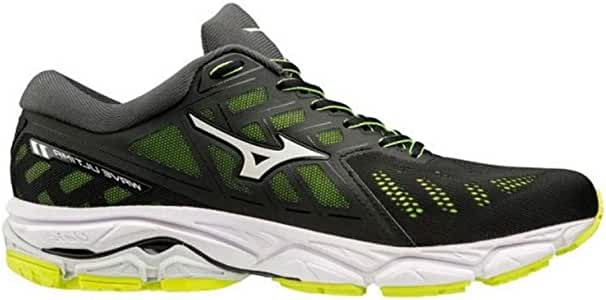 Mizuno Wave Ultima 11 Negro Amarillo J1GC1909 01: Amazon.es ...