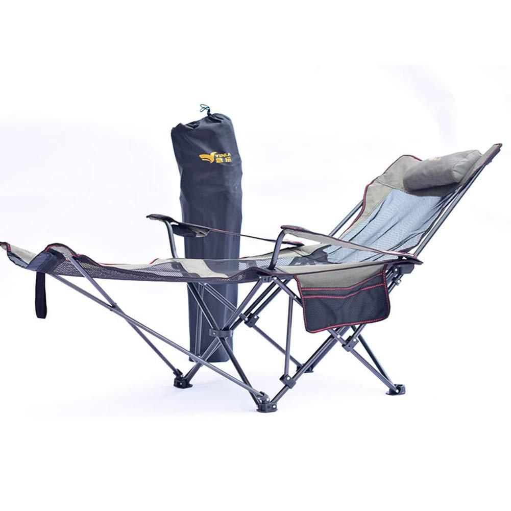 キャンプスツール折りたたみポータブルライトキャンプスツール屋外安いハイバックポータブル折りたたみ椅子グリッド収納袋で適しビーチバーベキュー旅行ピクニック,GrayA  GrayA B07NVF71W6