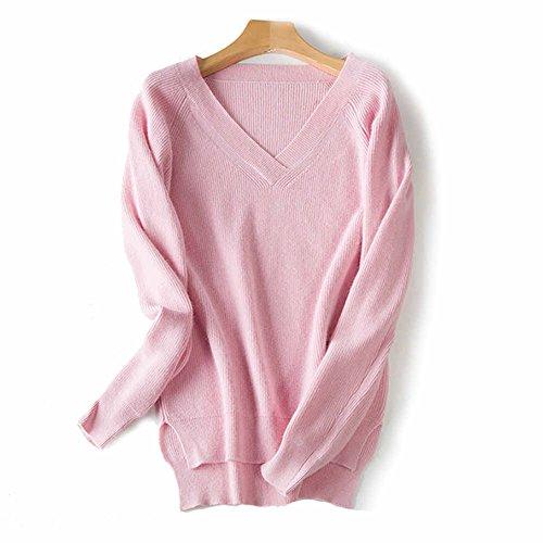 Pink 100% Wool - 4