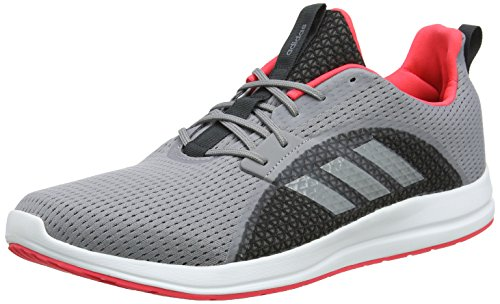Adidas Element V, Zapatillas de Running para Mujer Gris (Grey Three F17/Shock Red S16 Grey Three F17/Shock Red S16)