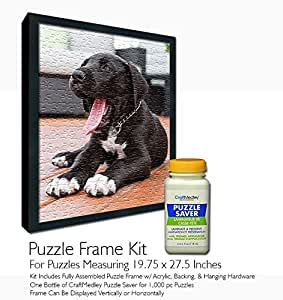 Amazon Com Jigsaw Puzzle Frame Kit For 19 75x27 5 Inch