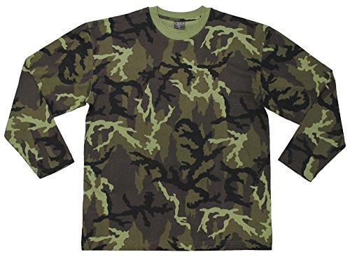 MFH US Tarn-Shirt, langarm, CZ tarn Typ 95, 160g/m²