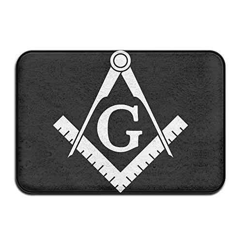 Freemason Logo-1 Indoor Outdoor Entrance Rug Non Slip Bath Mat Doormat Rugs For (Mason Outdoor Area Rug)