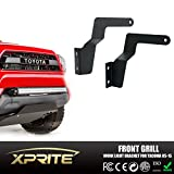 Xprite 30-32 Inch Steel Metal Grille Bumper Mounting Brackets For Straight and Curved LED Work Light Bars (2005-2015 Toyota Tacoma)