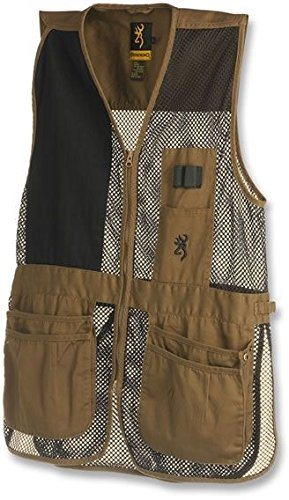 Browning Trapper Creek Vest, Clay/Black, Large