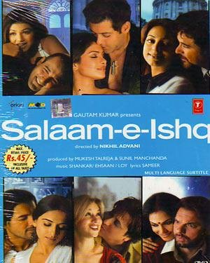 Amazon In Buy Salaam E Ishq Dvd Blu Ray Online At Best Prices