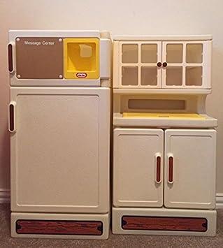 Amazon.com: Vintage Little Tikes Fridge and Hutch Pantry: Toys & Games