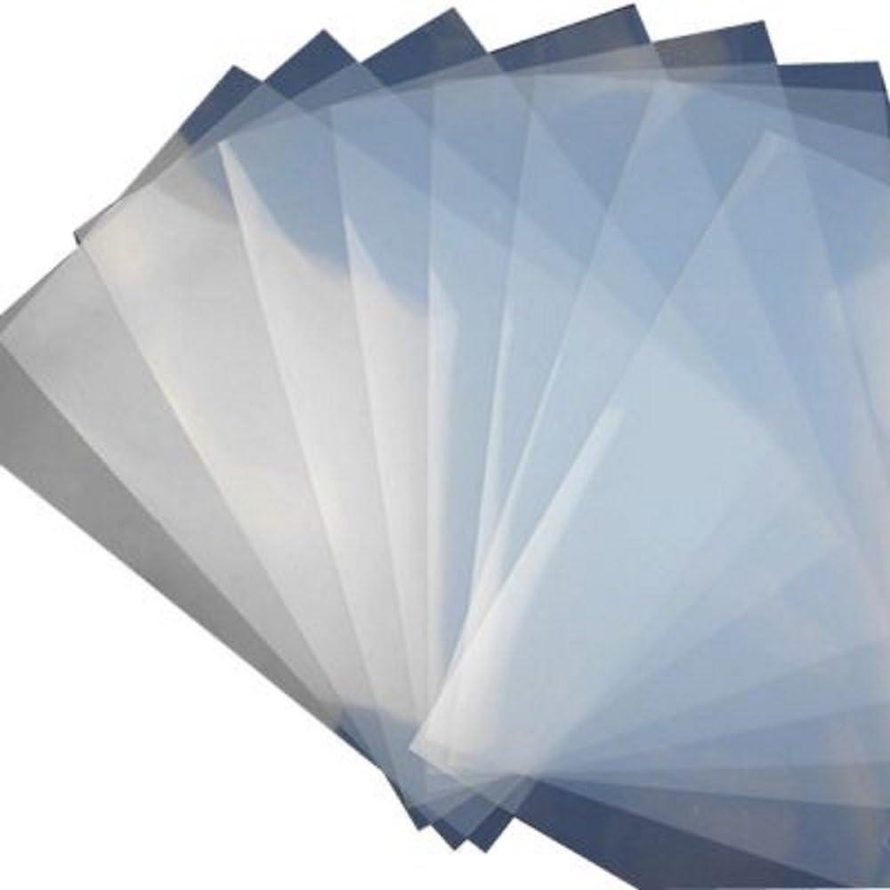 """50 Sheet 5 mil Waterproof Inkjet Milky Transparency Film 8.5/"""" x 11/"""""""