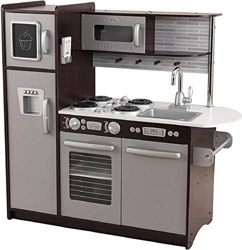 KidKraft Uptown Espresso Kitchen, Multicolor, 43 x 18 x 41 (53260)