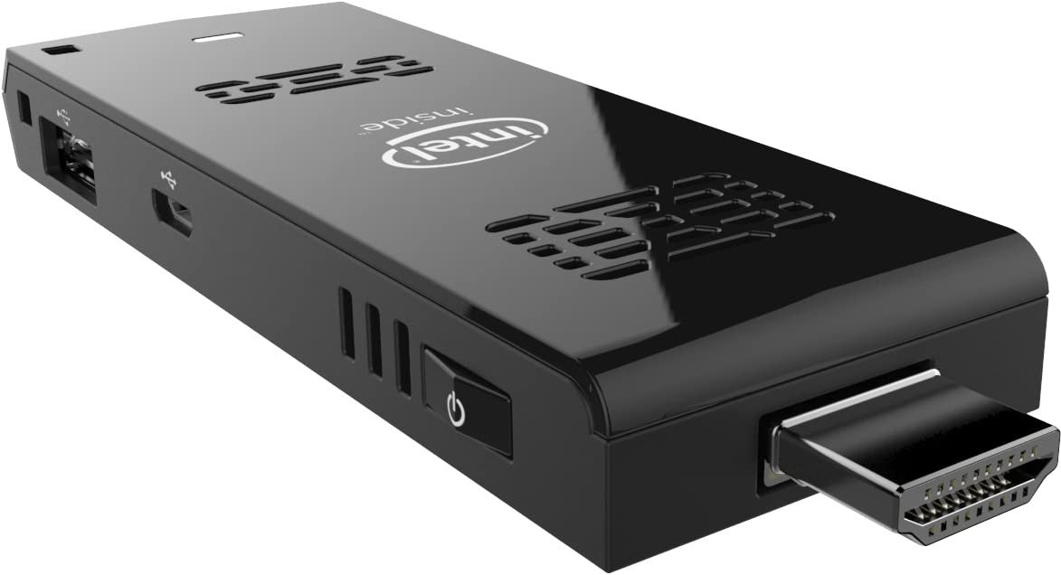 Intel Compute Stick Atom Z3735F, 2 GB de RAM, Windows 8.1 Color Negro: Amazon.es: Informática