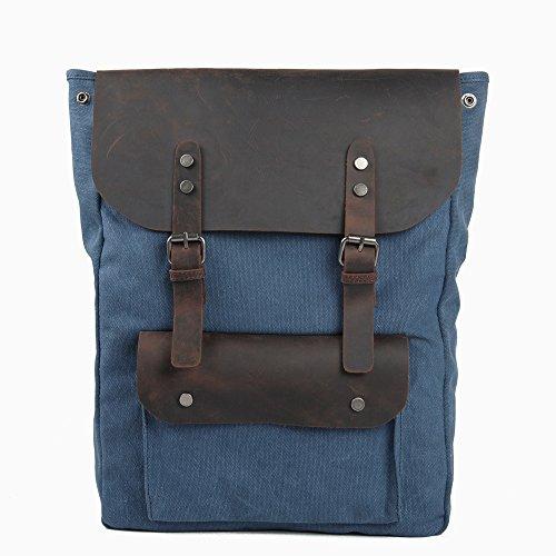 Toile Pour Homme Bandoulière Messenger Et L'école Sacs Bleu Travail Crossbody Vert Hommes Couleur À Bag En Travel Bags Le 0qXPA8